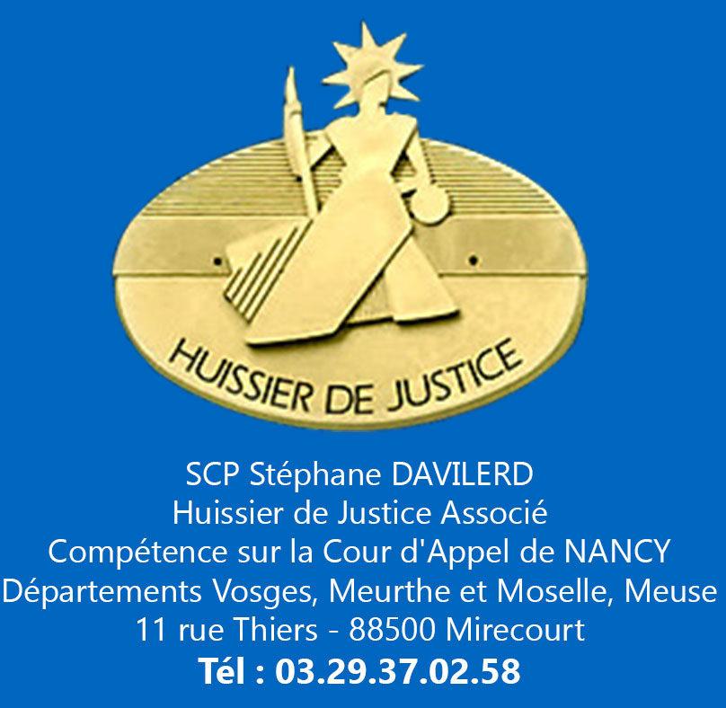 SCP Davilerd Huissiers de justice à Mirecourt Vosges 88